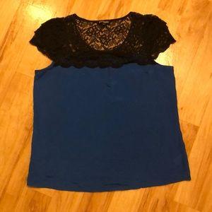 Express lace dress top